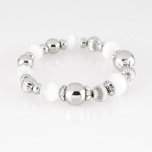 paparazzi Jewelry - Once Upon A MARITIME - White Bracelet
